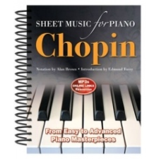 Frederic Chopin: Sheet Music for Piano idegen nyelvű könyv