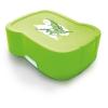 """FREEWATER Uzsonnás doboz, higiénikus műanyagból,  """"Sárkány"""", zöld"""