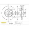 FREMAX Féktárcsa FREMAX Premium Black Carbon + BD-4206