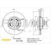 FREMAX Féktárcsa FREMAX Premium Black Carbon + BD-7338