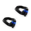 FrontStage 2x FrontStage PA-Kabel 5m mit Knickschutz