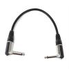 FrontStage 4 x FrontStage patch kábel, 6,35 mm jack, 30 cm, szögletes