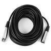 FrontStage XLR-Kabel 10m männlich zu weiblich mit hochwertigen Anschlüssen
