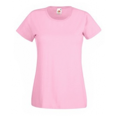 Fruit of the Loom  61-372  LADY FIT Valueweight  női póló LIGHT PINK  XS-XL méretek