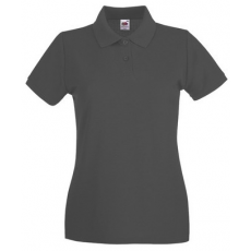 Fruit of the Loom 63-030 LADY FIT Premium női póló LIGHT GRAPHITE XS-XXL mérete