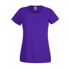 Fruit of the Loom FoL Lady-Fit Valueweight T, lila (FoL Lady-Fit Valueweight T, lila) női póló