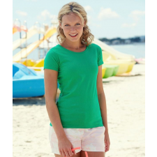 Fruit of the Loom FoL Lady-Fit Valueweight T, zöld (FoL Lady-Fit Valueweight T, zöld) női póló