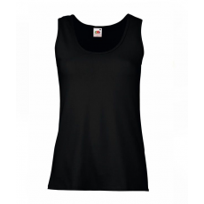 Fruit of the Loom Új Lady-Fit Valueweight Vest, fekete (Új Lady-Fit Valueweight Vest, fekete)