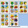 Fruits (Gyümölcsök) Angol nyelvű TanulóKártya Csomag - 178db-os készlet