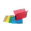 Függőmappa, oldalvédelemmel, karton, A4, DONAU, sárga 25 db/csomag