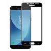 Full Screen teljes kijelzős hajlított üvegfólia, ütésálló védőfólia Samsung A730 Galaxy A8 Plus 2018-hoz fekete (3D, 9H)