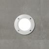 Fumagalli LETI 100 ROUND süllyeszett fali lámpa  GX53  fehér test - opál üveg  3000K (Lámpa)