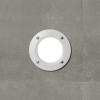 Fumagalli LETI 100 ROUND süllyeszett fali lámpa  GX53 fehér test - opál üveg  4000K (Lámpa)
