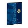 füzet A4 REAL MADRID- BLUE vonalas