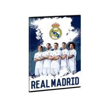 füzet A4 REAL MADRID - PLAYERS 2017 vonalas futball felszerelés