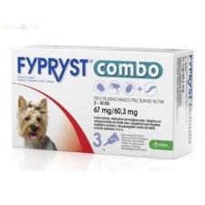 Fypryst Combo kutyáknak (0,67ml 2-10kg) 3db élősködő elleni készítmény kutyáknak