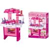 G21 Gyermek konyha edénykészlettel - rózsaszín