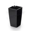 G21 önöntöző kaspó Linea mini 14 cm, fekete