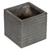 G21 Stone Cube virágcserép 24x24x23cm