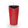 G21 Trio önöntöző kaspó, piros, 15cm