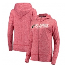 G-III Apparel Group Calgary Flames női pulóver pink Reciever Full-Zip Hoodie - XXL