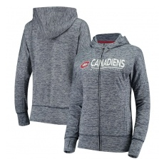 G-III Apparel Group Montreal Canadiens női pulóver grey Reciever Full-Zip Hoodie - M