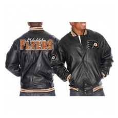 G-III Apparel Group Philadelphia Flyers Kabát Faux Leather - M