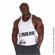 G!WEAR STRINGER TANK TOP (WHITE) [XL] férfi edzőruha