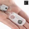 Gadget and Gifts Kulcstartó Iránytűvel, Nagyítóval és Hőmérővel