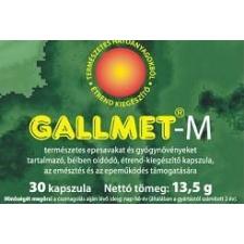 GALLMET-M KAPSZULA 30 DB táplálékkiegészítő