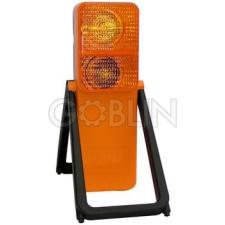 Ganteline ADR lámpa mûanyag ház, stabil lábak, 6V-os 2,4 W-os izzó munkavédelem