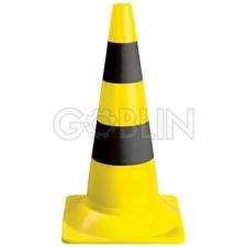 Ganteline Jelzõbója, 54 cm magas, sárga-fekete munkavédelem