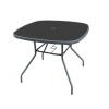 Gardenwell 'Faro fém szögletes kerti asztal'