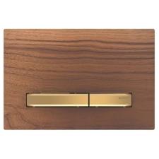 Geberit Sigma50 nyomólalap, sárgaréz/amerikai feketedió 115.672.JX.2 fürdőszoba kiegészítő