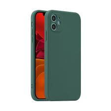 Gegeszoft Fosca Apple iPhone 12 Pro Max 2020 (6.7) zöld szilikon tok tok és táska