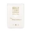 Gegeszoft Kft. Apple iPad Mini 4 átlátszó vékony szilikon tok