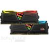 Geil DDR4 16GB 2400MHz GeIL Super Luce AMD Edition RGB Lite CL16 KIT2 (GALC416GB2400C16DC)