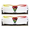 Geil DDR4 16GB 3200MHz GeIL Super Luce White RGB CL16 KIT2 (GLWC416GB3200C16ADC)