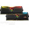 Geil DDR4 8GB 2400MHz GeIL Super Luce Black RGB Sync CL16 KIT2 (GLS48GB2400C16DC)