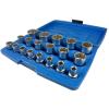 """Geko Univerzális dugókulcs készlet 1/2"""" 8-32mm (19db-os)"""