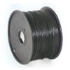 Gembird 3D nyomtatószál (izzószál) PLA, 1,75 mm, 1 kg, fekete