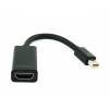 Gembird adapter mini displayport 1.1->HDMI; on cable; black