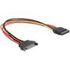 Gembird extention kábel SATA 15pin (M/F) 30 cm