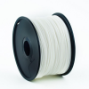 Gembird Filament Gembird ABS White ; 1;75mm ; 1kg