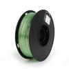 Gembird Filament Gembird POLYMER GLOSSY Silk Green ; 1;75mm ; 1kg