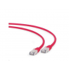 Gembird FTP LSZH kat.6A RJ45 patch kábel; 0.5m; red