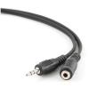 Gembird Jack stereo 3,5mm -> M/F audio kábel hosszabbító 3m fekete