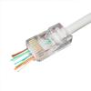 Gembird LC-PTU-01/100 aranyozott moduláris LAN csatlakozódugó csomag (100db)