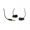 "Gembird Metal earphones with microphone, ""Paris"", black"