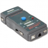 Gembird NCT-2 Ethernet kábel teszter UTP, STP, USB